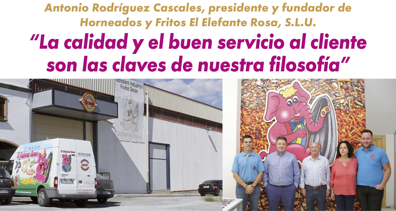 Reportaje en la revista Dulce Noticias. Noviembre 2017