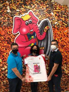El Elefante Rosa y Guadix, C.F. renuevan el acuerdo de patrocinio